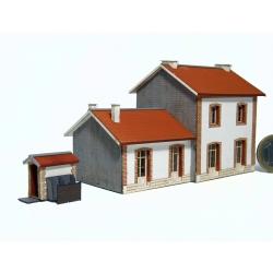 "BV 2 portes + annexe+ WC ""PLM"" type« Gare de Jonchères » (-N-)"