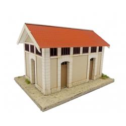 "WC ""MIDI"" type « Gare d'Aguessac » (-HO-)"