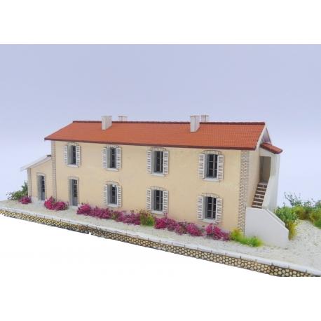 """Bâtiment Voyageur type """"Gare de Le Trayas"""" (ex PLM) (-N-)"""