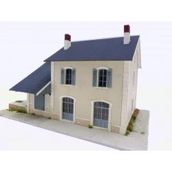 """BV + halle 1 porte """"MIDI"""" type « Gare de Sainte-Eulalie de Cernon » (-HO-)"""