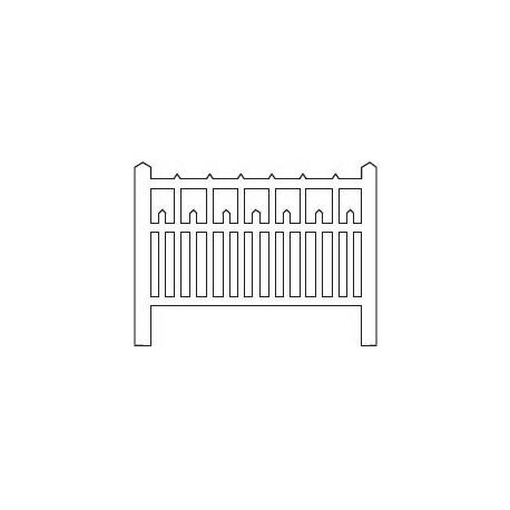 Barrières béton 90 type unifié (-HO-)