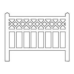 Barrières béton 99 type Est (-HO-)