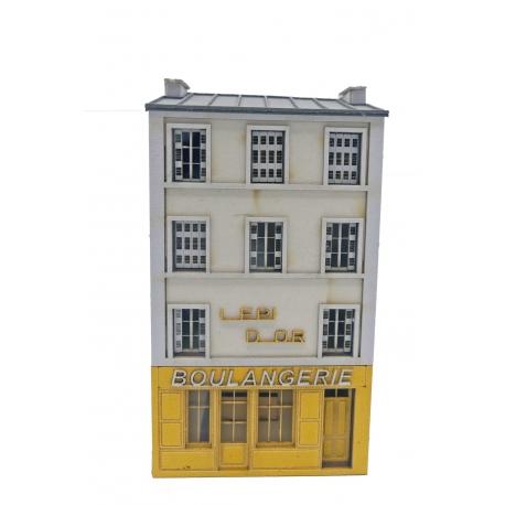 """Immeuble fond de décor """"Boulangerie"""" (-N-)"""