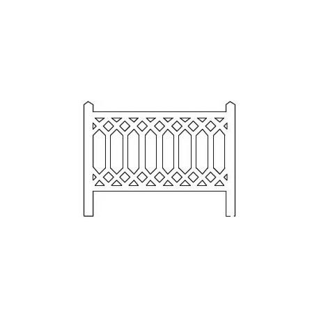 Barrières béton 101 type PLM (-HO-)