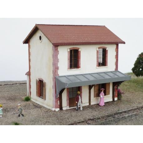 BV CBR (Chemins de fer de la Banlieue de Reims) type 2 « Gare d'Anthenay» (-HO-)