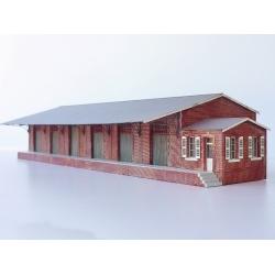 """Halle 6 portes """"NORD"""" type «Gare de Faucouzy-Monceau »"""