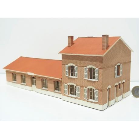 """BV 6 portes """"NORD""""type reconstitution « Gare de Gouzeaucourt » (-HO-)"""