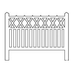 Barrières béton 104 type PO « Evaux-les-Bains » (-HO-)
