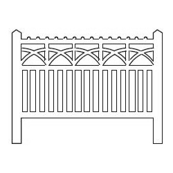 Barrières béton 105 type PO (-HO-)