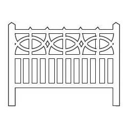 Barrières béton 106 type PO (-HO-)