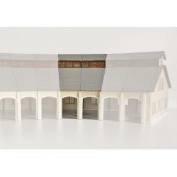 """Complément 2 stalles rotonde """"PO"""" type «Gare de St Sulpice Laurière»"""