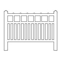 Barrières béton 91 type unifié (-HO-)