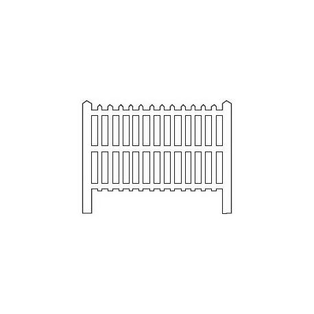 Barrières béton 109 type PLM (-HO-)