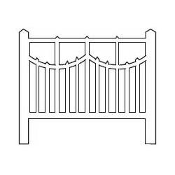 Barrières béton 110 type unifié (-HO-)