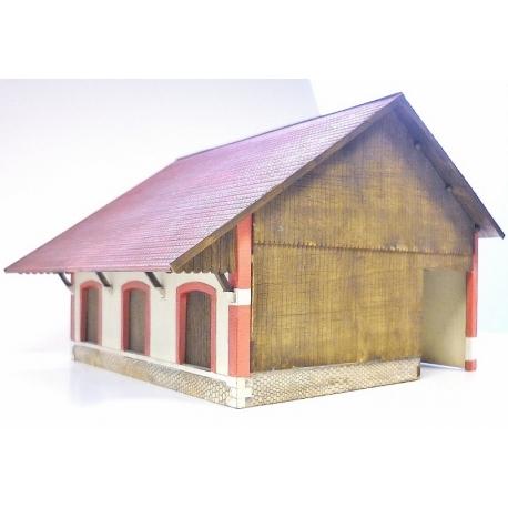 """Halle 3 portes """"PLM"""" Forez type « Gare de La Chaise-Dieu » (-HO-)"""