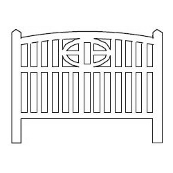 Barrières béton 114 type Baie de Somme « Cayeux » (-HO-)