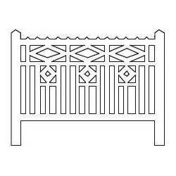 Barrières béton 115 type PO (-HO-)
