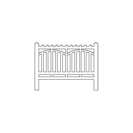 Barrières béton 116 type Est (-HO-)