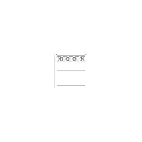 Clôture béton 202 type unifié (-HO-)