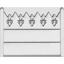 Clôture béton 01 type CP Portugal