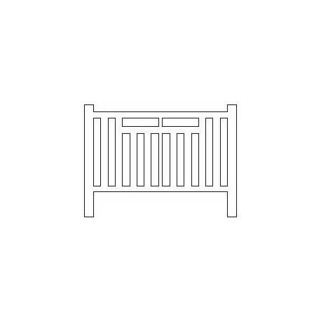 Barrières béton 301 type SNCB Belgique (-HO-)