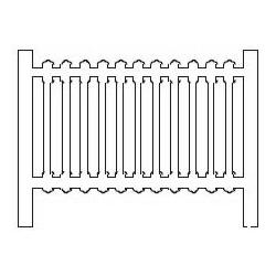 Barrières béton 01 type FS Italie (-HO-)