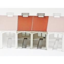 """Complément 2 stalles rotonde""""PLM"""" type « Gare d'Autun »"""