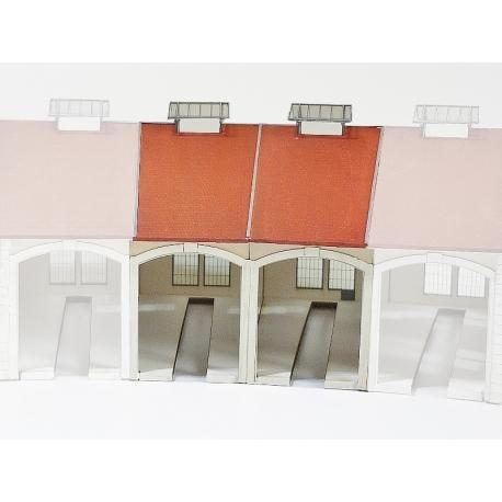 """Complément 2 stalles rotonde""""PLM"""" type « Gare d'Autun » (-N-)"""