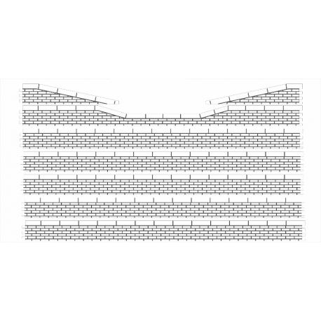 Bordures de quai moellons avec descentes (-N-)