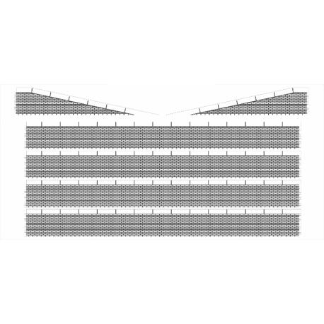 Bordures de quai marchandises briques