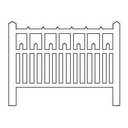 Barrières béton 90 type unifié (-N-)