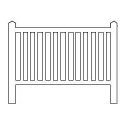 Barrières béton 94 type unifié « Najac » (-N-)