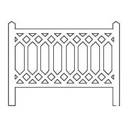 Barrières béton 101 type PLM (-N-)
