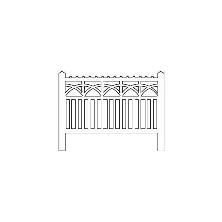 Barrières béton 105 type PO (-N-)
