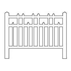 Barrières béton 98 type Est (-N-)