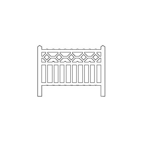 Barrières béton 103 type Nord (-N-)