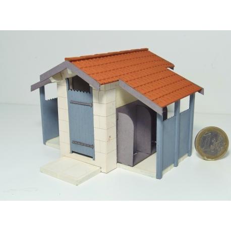 """WC """"PLM"""" petit modèle type « Maison-Dieu »"""