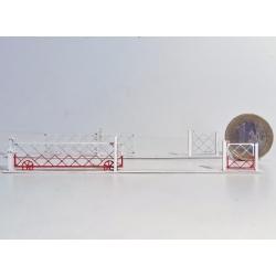 Barrières roulantes + portillons pour PN 4m (-HO-)