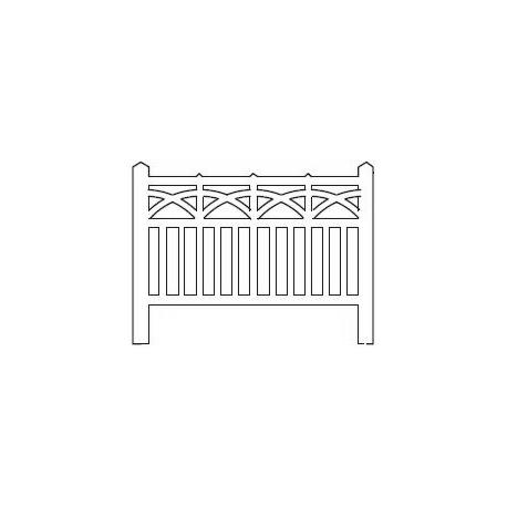 Barrières béton 92 type PLM (-ZERO-)