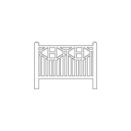 Barrières béton 93 type PO (-ZERO-)