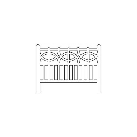 Barrières béton 106 type PO (-ZERO-)
