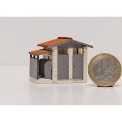 """WC """"PLM"""" moyen modèle type « Gare de Saint Désert » (-TT-)"""
