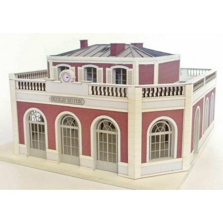 "Gare""Petite Ceinture"" type « Gare de l'Avenue Henri Martin »"