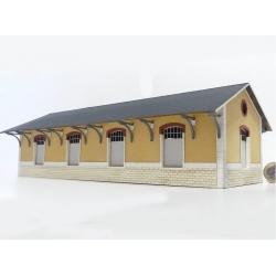 Halle 4 portes type PO « Gare de Vieilleville » (-HO-)
