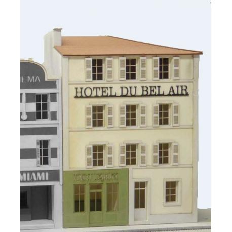 """IMMEUBLE DE VILLE POUR FOND DE DECOR """"HOTEL DU BEL AIR"""""""