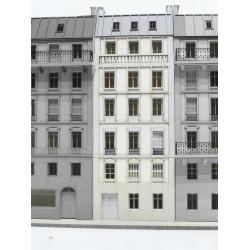 Immeuble pour fond de décor