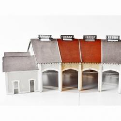 """Complément 2 stalles rotonde """"PLM"""" type «Gare d' Autun » (-HO-)"""