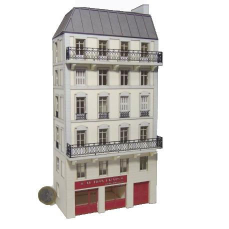 Immeuble de ville FDD110