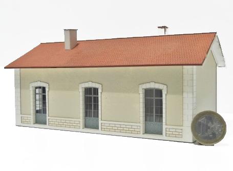 Bâtiment des services du PLM Cercy la Tour